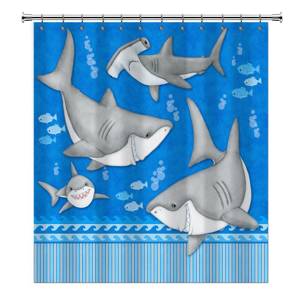 Under Water Shower Curtain 70022