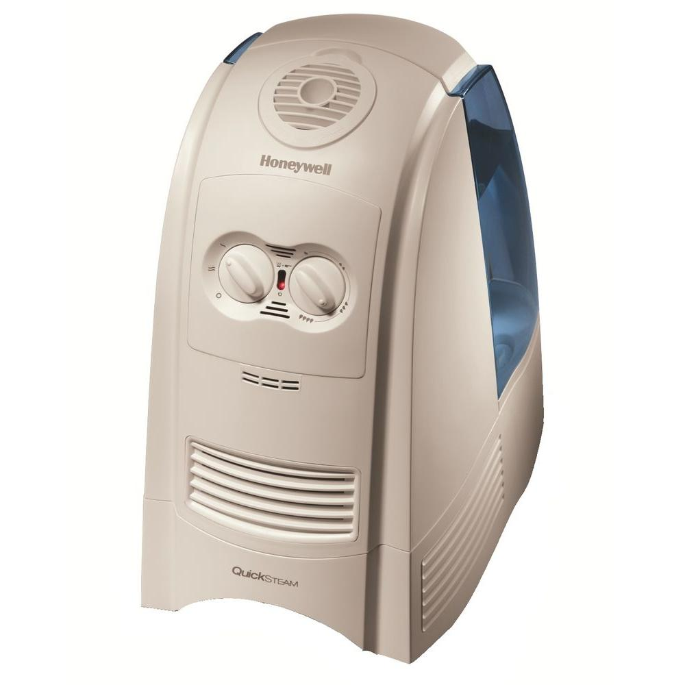 Honeywell 3-Gal. Quick Steam Warm Mist Humidifier-DISCONTINUED