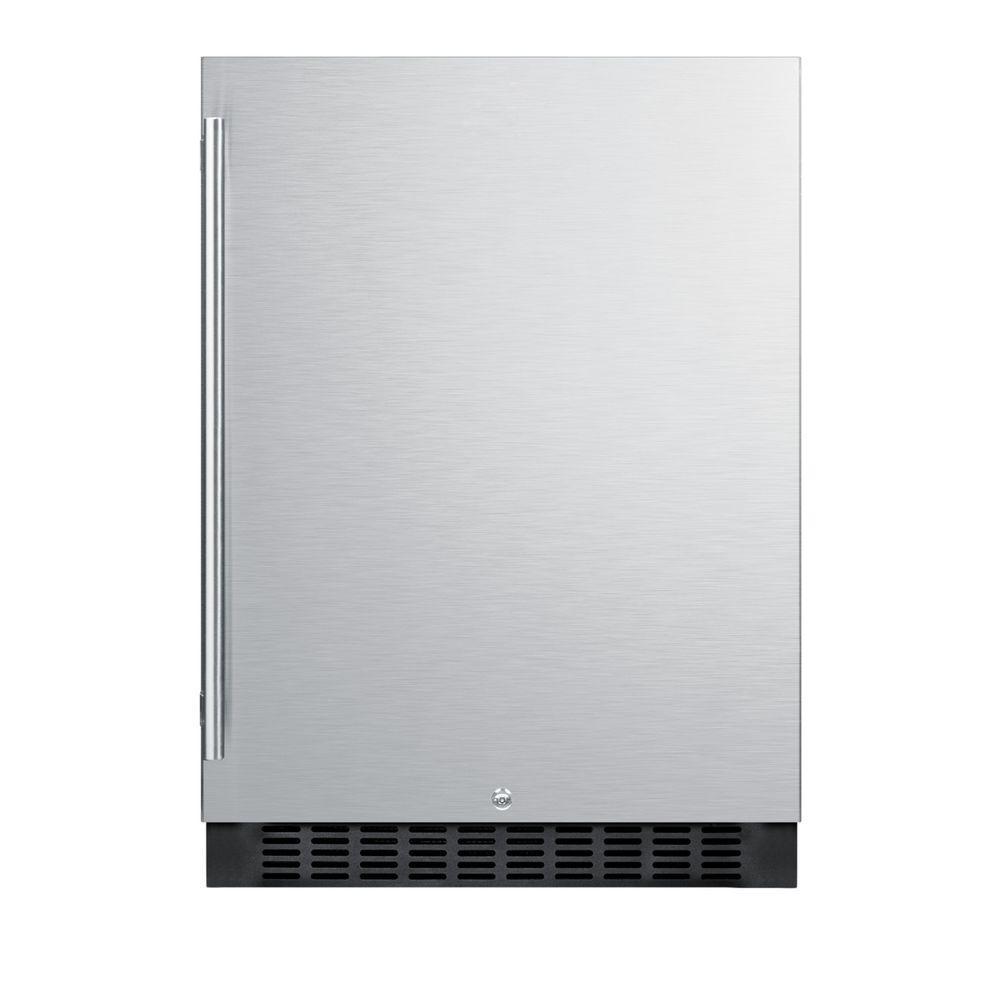 Summit Appliance 4.6 cu. ft. Outdoor Mini Refrigerator in Black