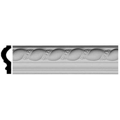 7/8 in. x 2 in. x 94-1/2 in. Polyurethane Devon Rope Panel Moulding