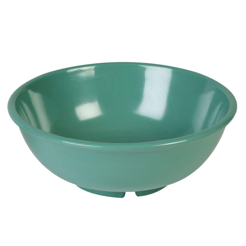 Coleur 32 oz., 7-1/2 in. Salad Bowl in Green (12-Piece)