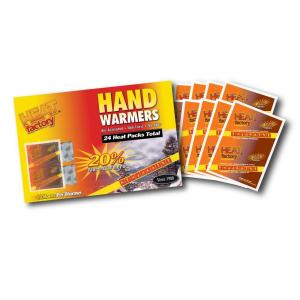 Heat Factory 10 Plus Hour Hand Warmer Pair 12-Contain Pack by Heat Factory