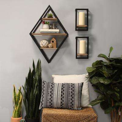 Diamond Shelf Wall Decor