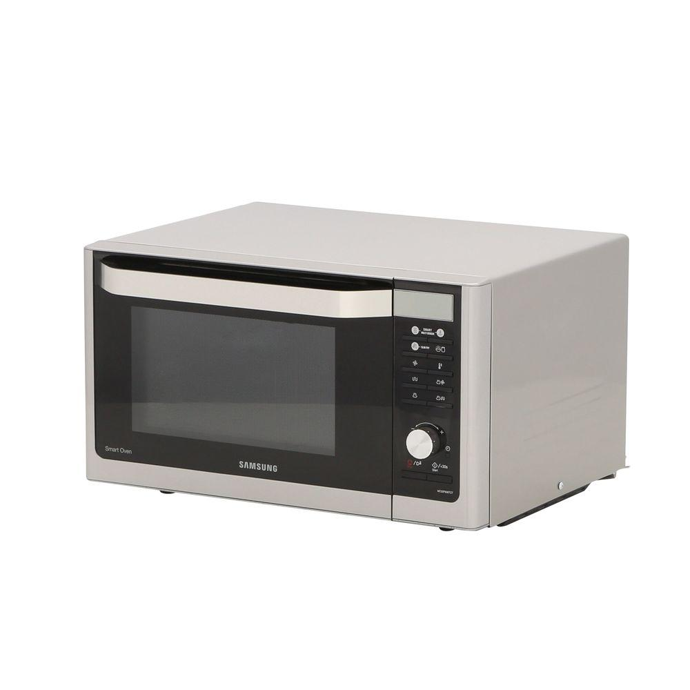 Samsung 1 Cu Ft Countertop Convection Microwave In Stainless Steel With Slim Fry Technology