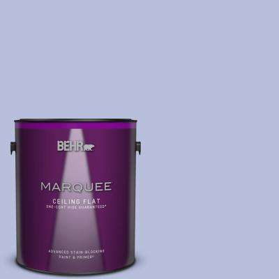 1 gal. #MQ4-31 Stardust Evening One-Coat Hide Ceiling Flat Interior Paint and Primer in One
