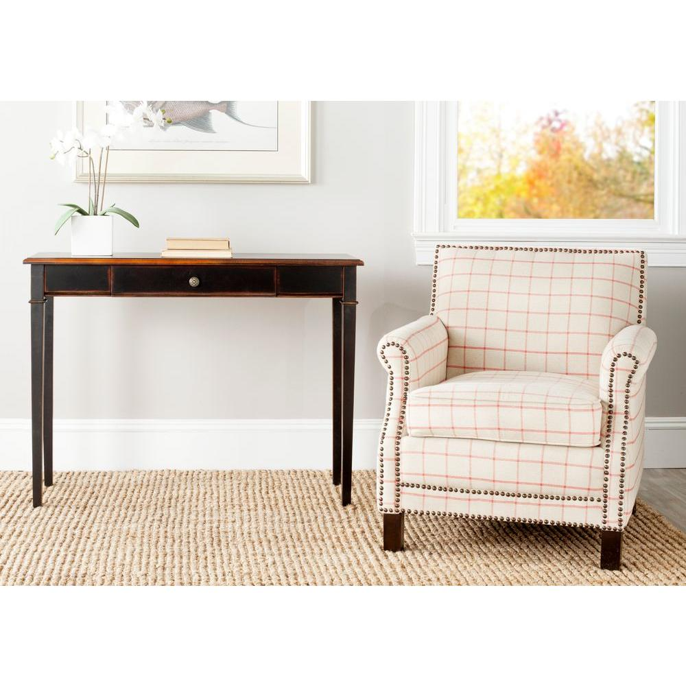 Safavieh Lindsey Cappuccino Storage Console Table
