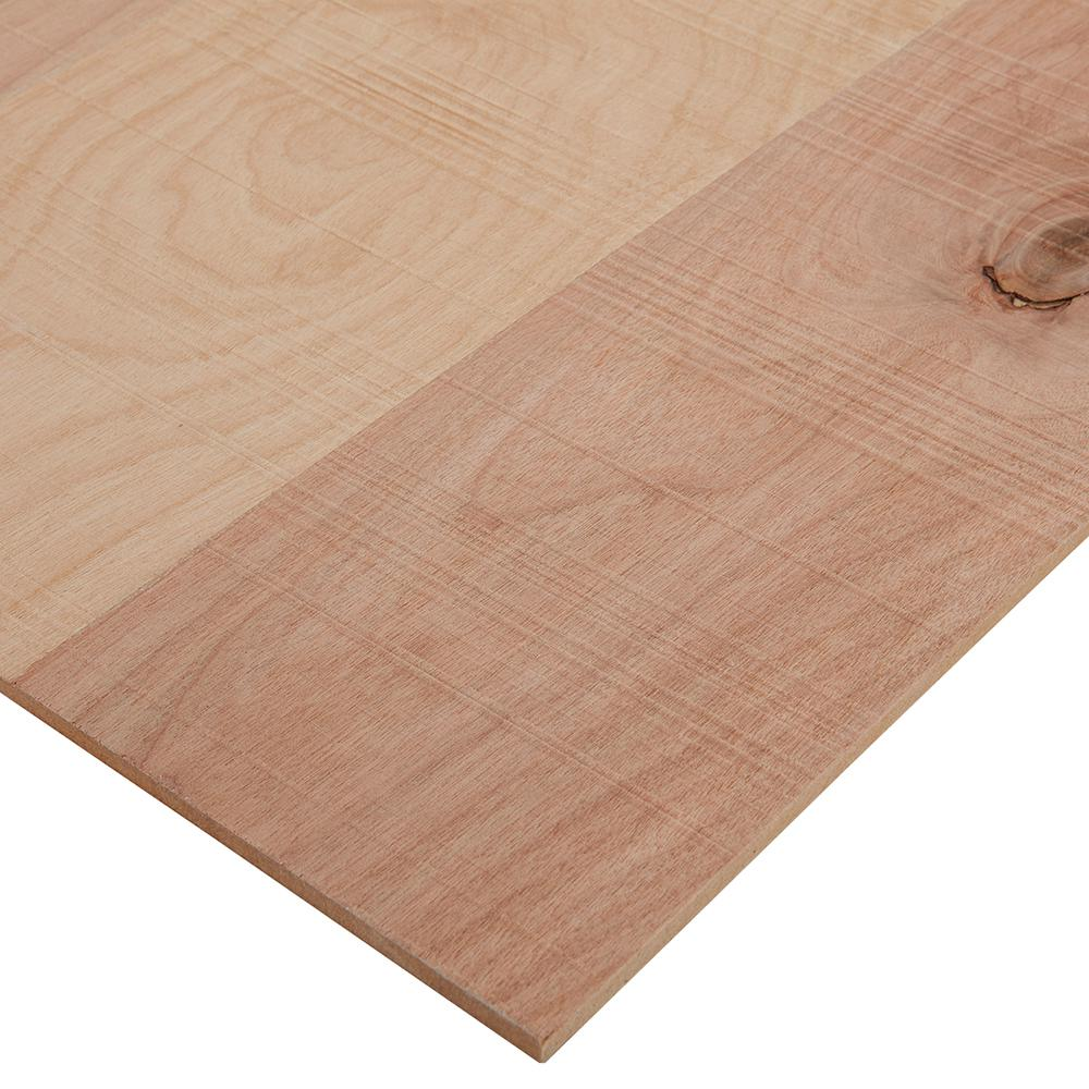 Columbia Forest Products 1/4 in. x 4 ft. x 4 ft. Rough Sawn Birch Plywood Project Panel