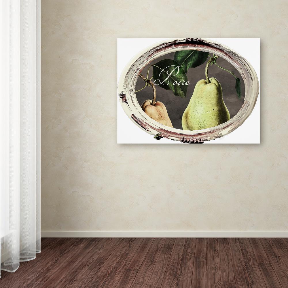 Trademark Fine Art 24 In X 32 In Paris In Frames 9 By Color