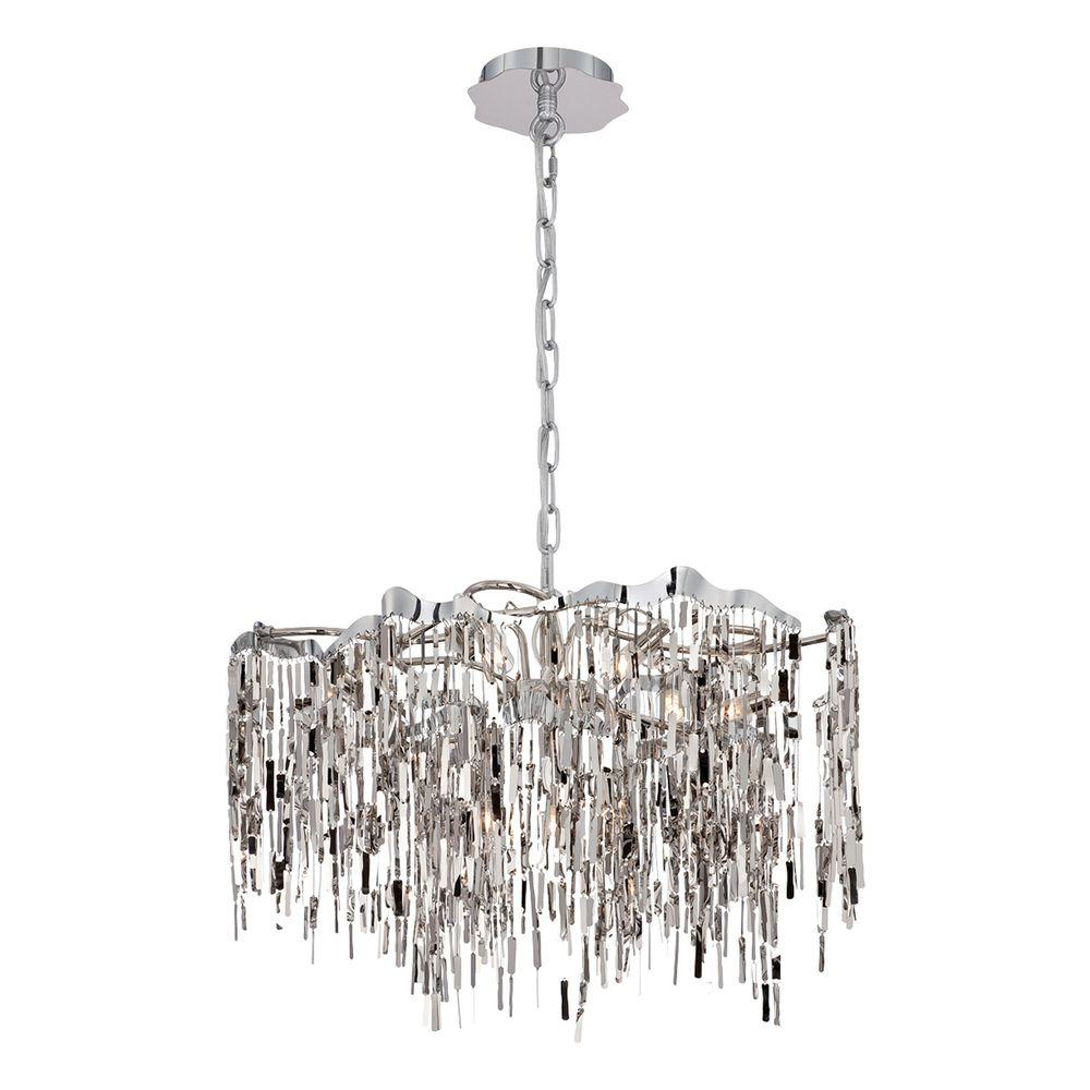 Led eurofase chandeliers lighting the home depot elfassy collection 9 light chrome chandelier arubaitofo Image collections