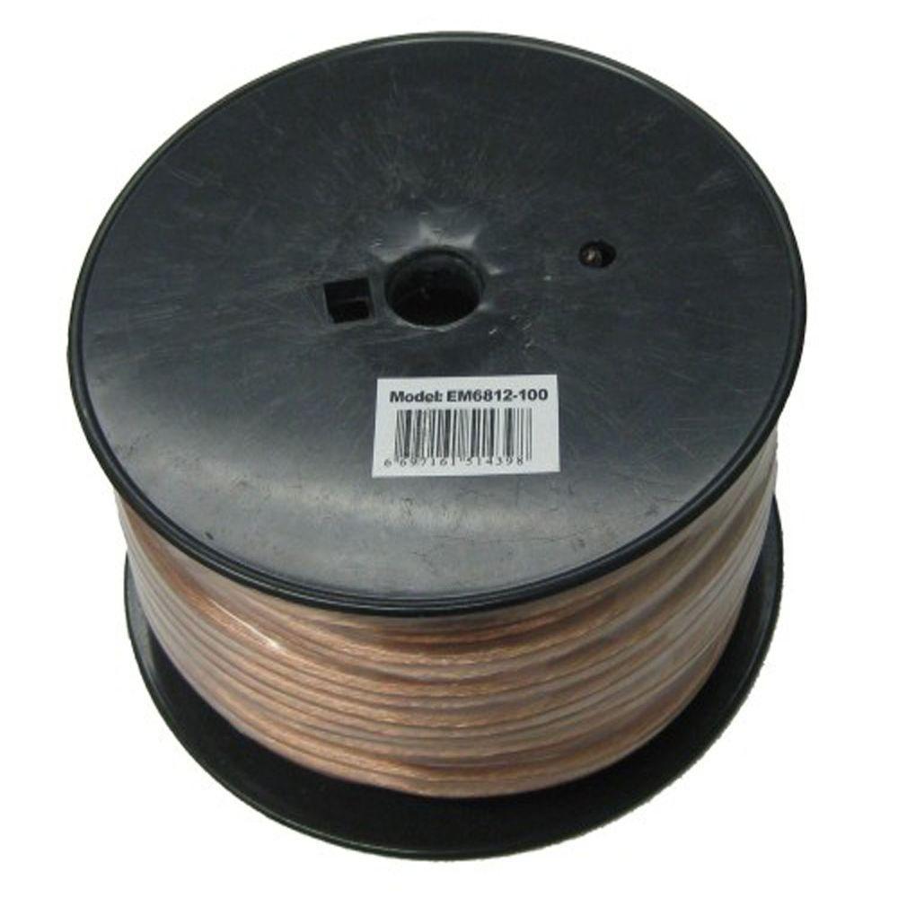 Electronic Master 100 ft. 12-2 Stranded Speaker Wire