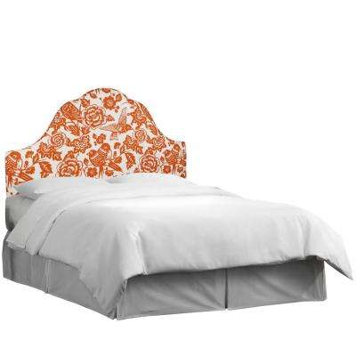 Canary Tangerine Twin Arched Headboard