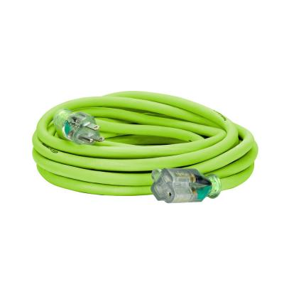 25 ft. 12/3 AWG SJTW Pro Extension Cord with Lighted Plug