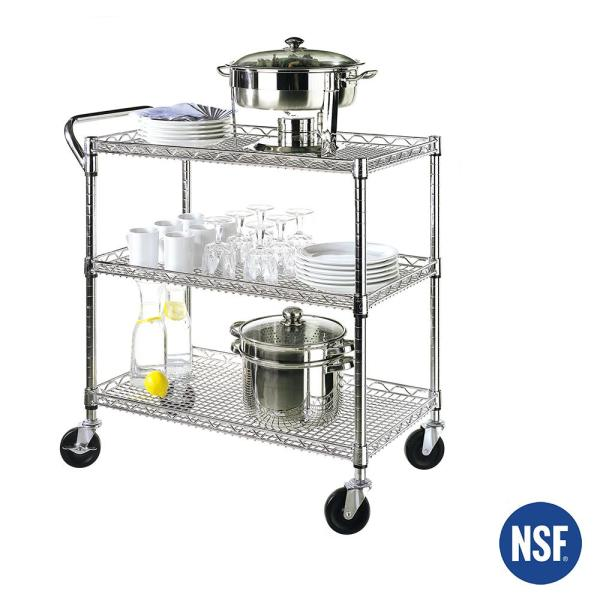 Industrial All-Purpose Utility Cart, NSF Listed