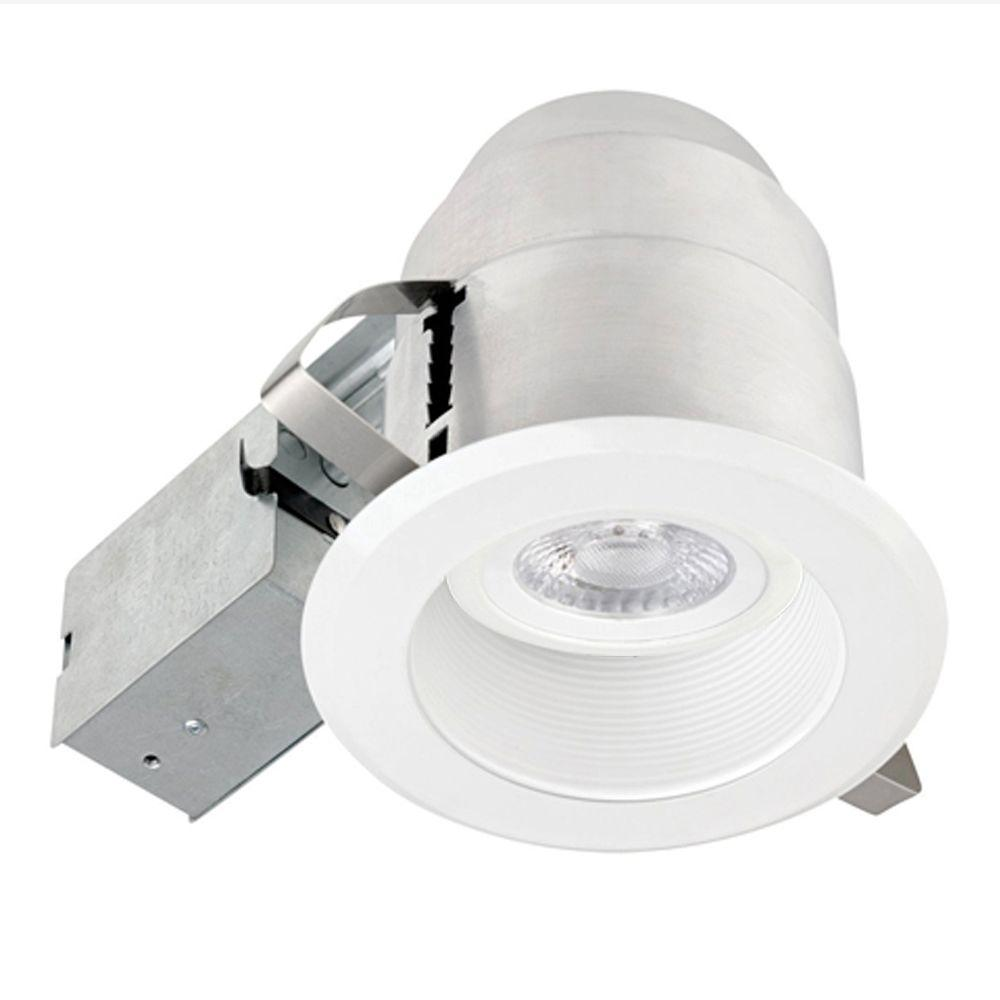 globe electric 5 in white recessed lighting baffle kit 90955 the