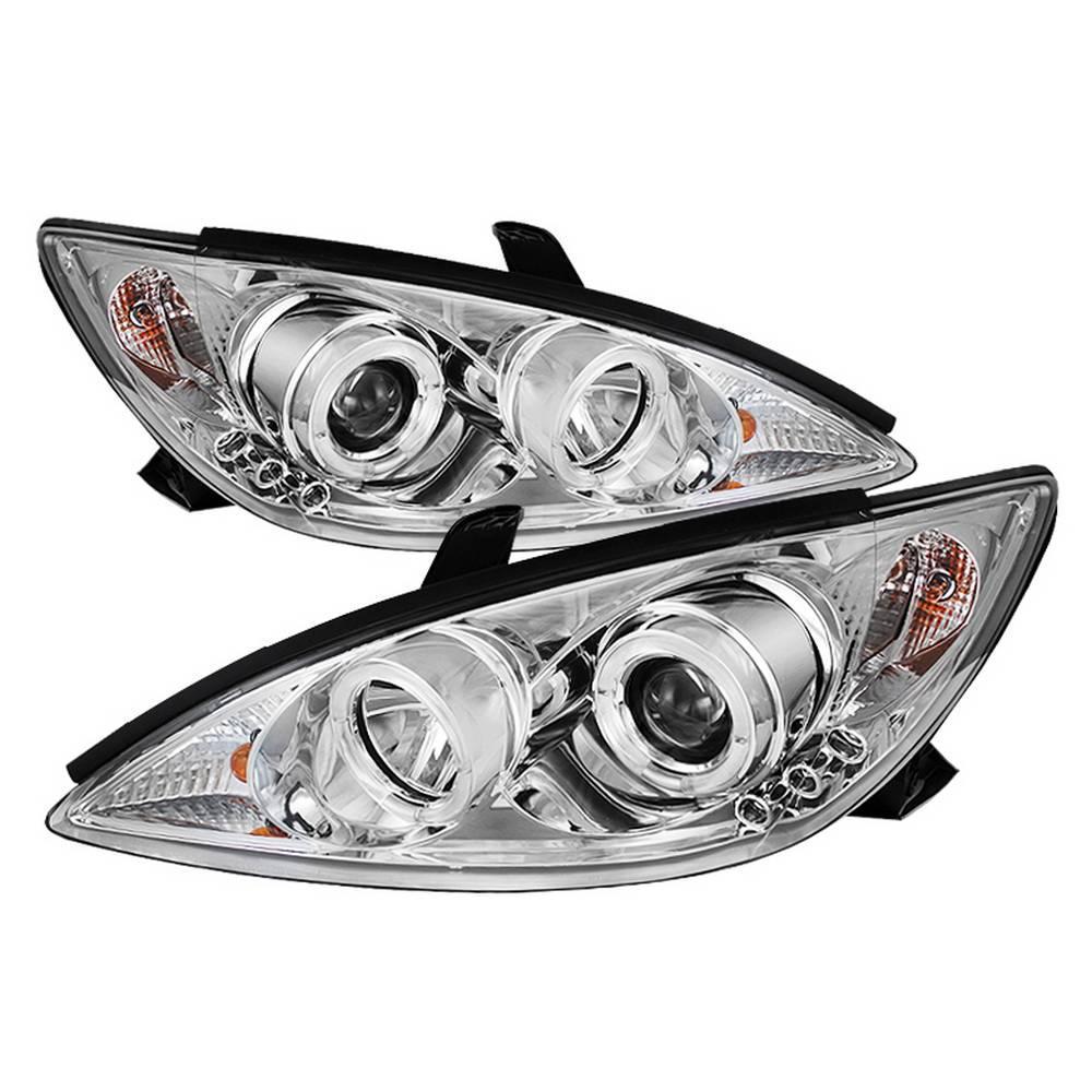 Spyder Auto 5064301 Halo Projector Headlights Fits 02-06 Camry