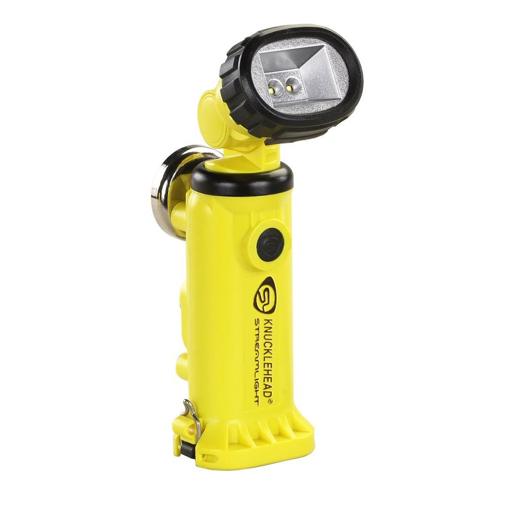 Streamlight Knucklehead Yellow Flashlight with Charger/Holder and 120-Volt AC and DC Cords