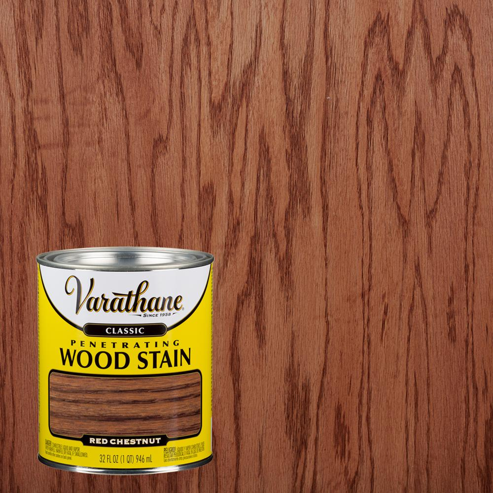 Varathane 1 qt. Red Chestnut Classic Wood Interior Stain