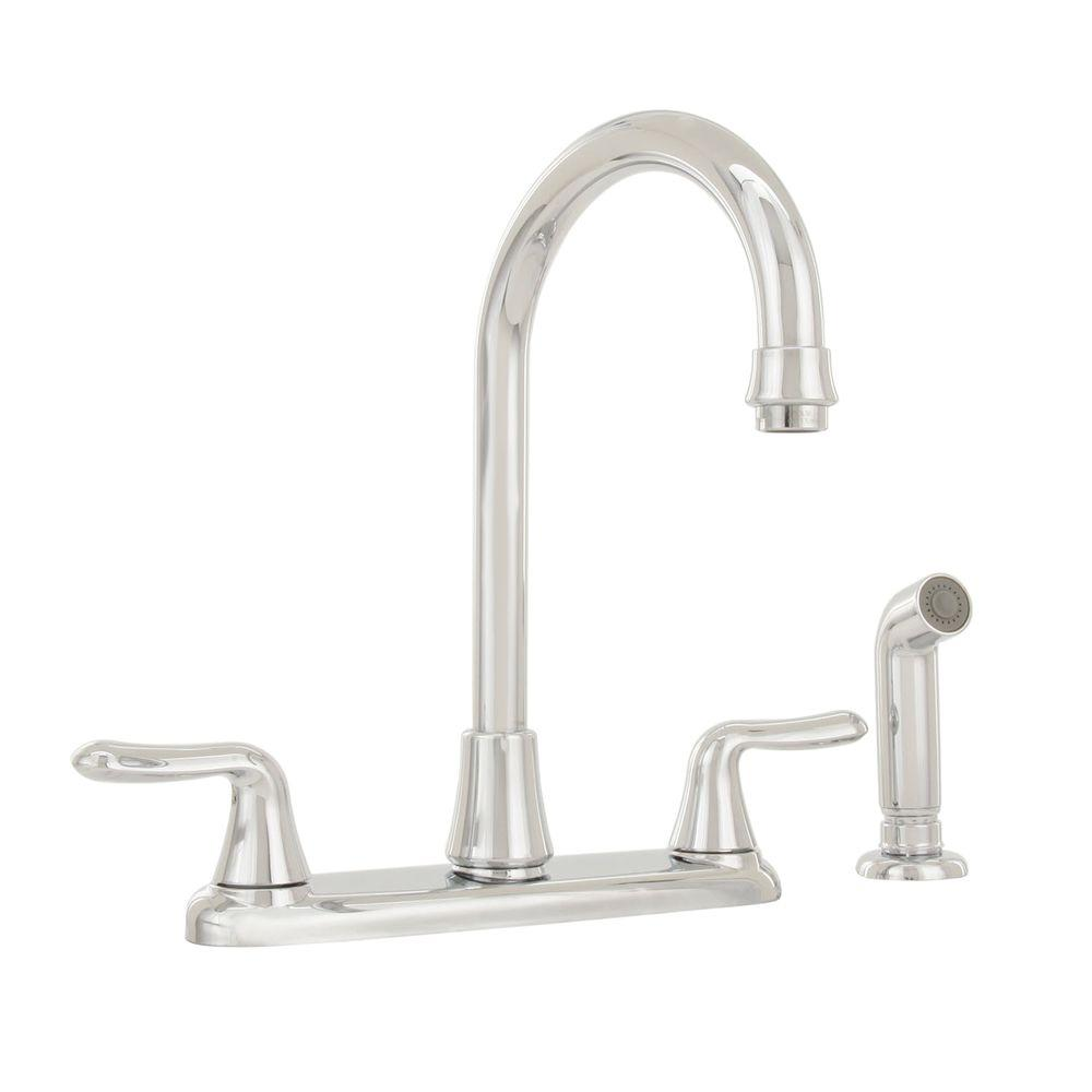 American Standard Colony Soft 2-Handle Standard Kitchen Faucet in ...