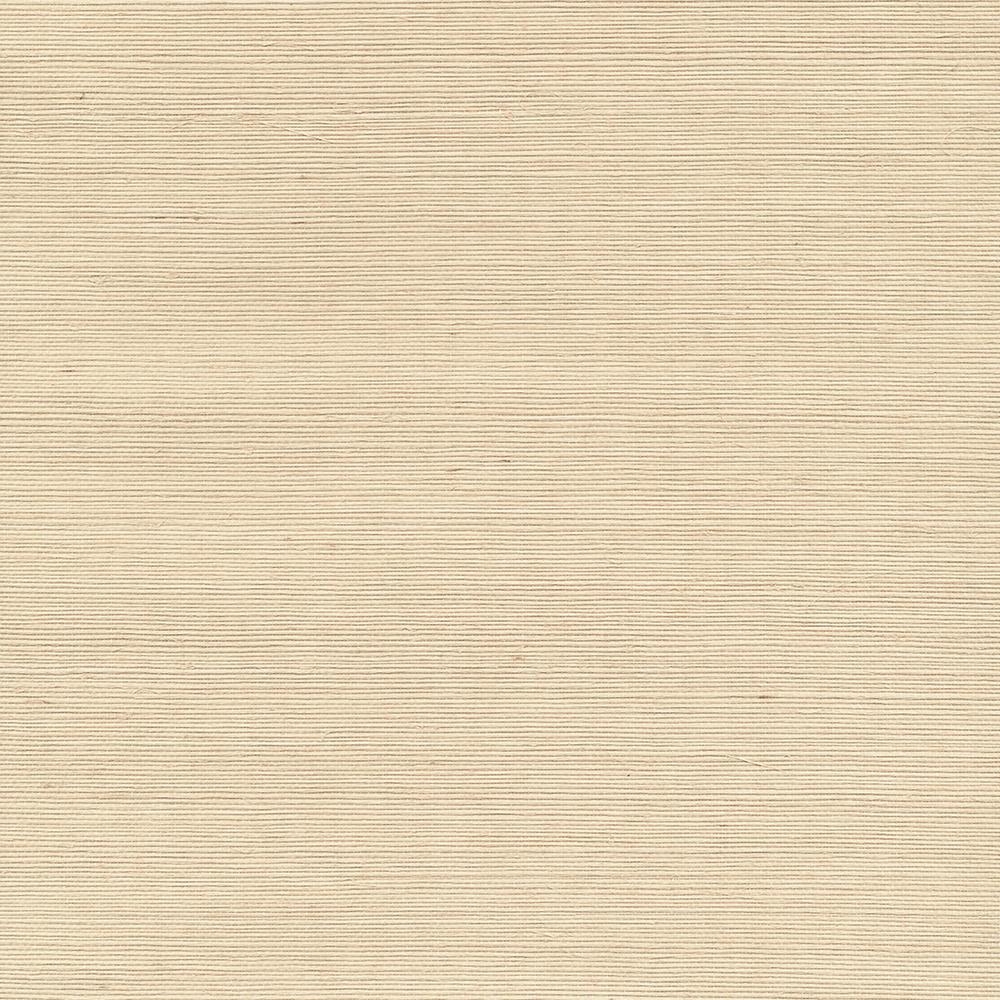 Shinko Champagne Grasscloth Wallpaper Sample