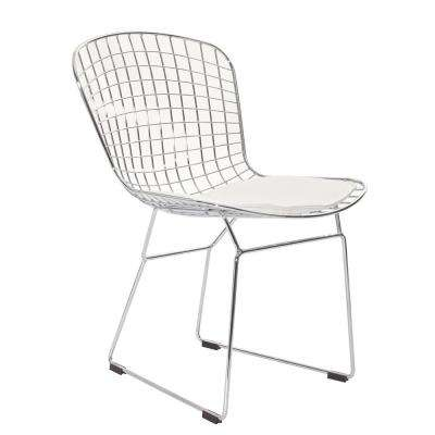 CAD White Dining Side Chair