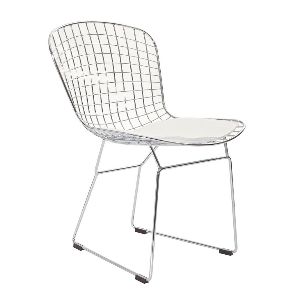 MODWAY CAD White Dining Side Chair