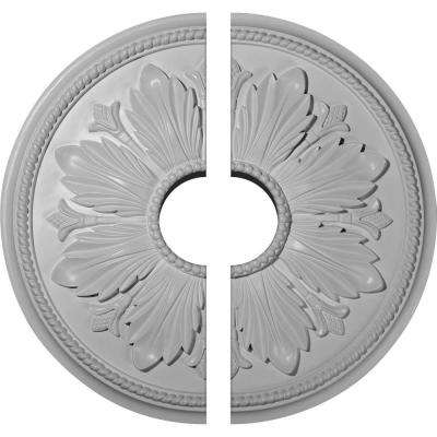 23-5/8 in. x 5-1/2 in. x 1-1/2 in. Kaya Urethane Ceiling Medallion, 2-Piece (Fits Canopies up to 5-1/2 in.)