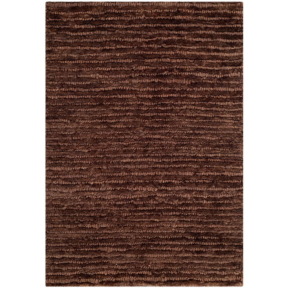 Organic Brown 4 ft. x 6 ft. Area Rug