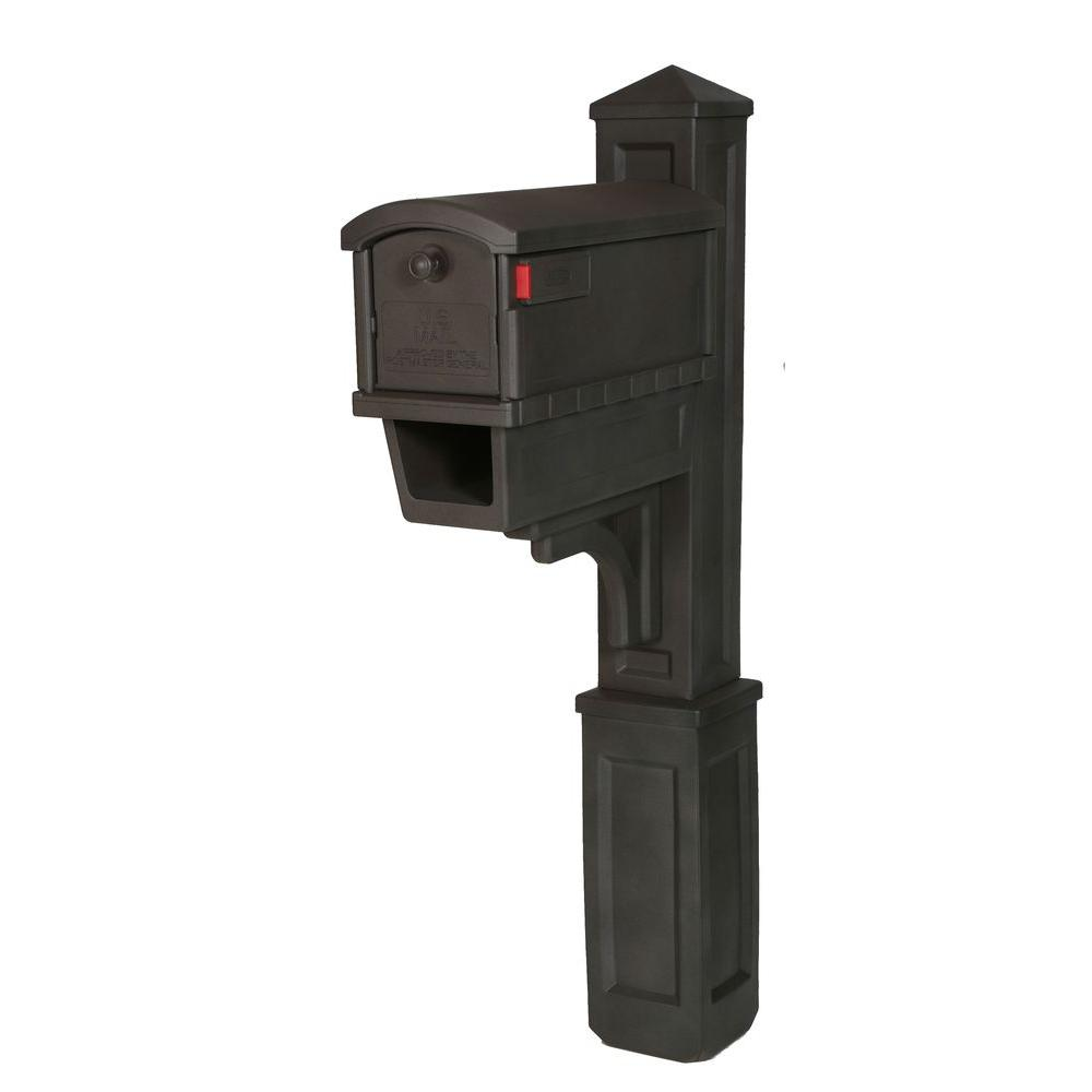 Gibraltar Heritage All-in-One Plastic Mailbox and Post Co...