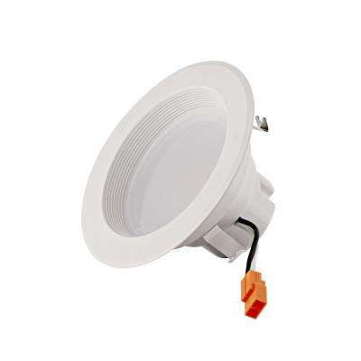 4 in. 2700K Color Temperature New Construction IC Rated Recessed Integrated LED Kit