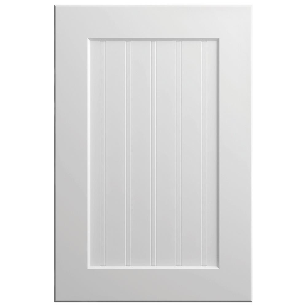 11x15 in. Abilene Cabinet Door Sample in White