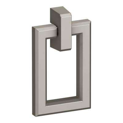 Poplin 1-1/2 in. Brushed Rectangular Cabinet Pull