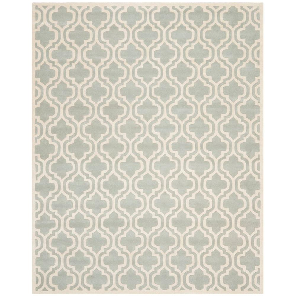 Chatham Grey/Ivory 10 ft. x 14 ft. Area Rug