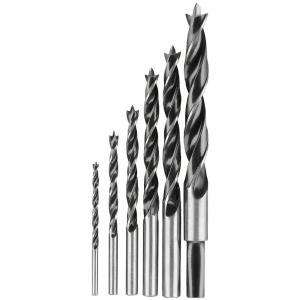 Dewalt High Speed Steel Brad-Point Drill Bit Set (6-Piece) by DEWALT
