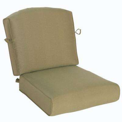 Edington 23.52 X 23.32 Outdoor Chair Cushion In Standard Toffee