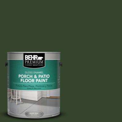 1 gal. #SC-120 Ponderosa Green Gloss Porch and Patio Floor Paint
