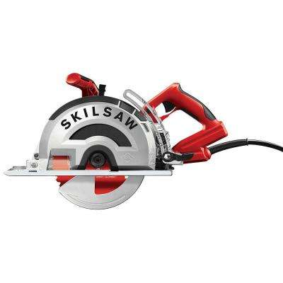 15 Amp Corded Electric 8 in. OUTLAW Worm Drive Saw for Metal with 42-Tooth Diablo Cermet-Tipped Blade