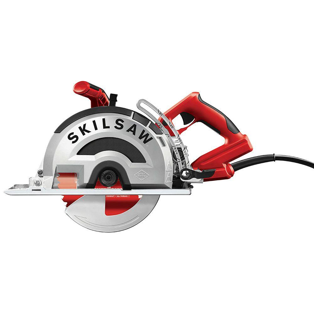 Skilsaw 15 amp corded electric 8 in outlaw worm drive saw for metal skilsaw 15 amp corded electric 8 in outlaw worm drive saw for metal with 42 greentooth