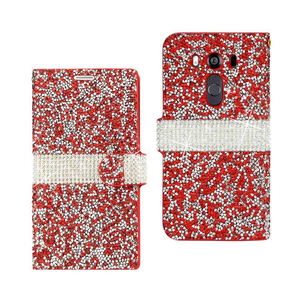 LG V10 Folio Case in Red
