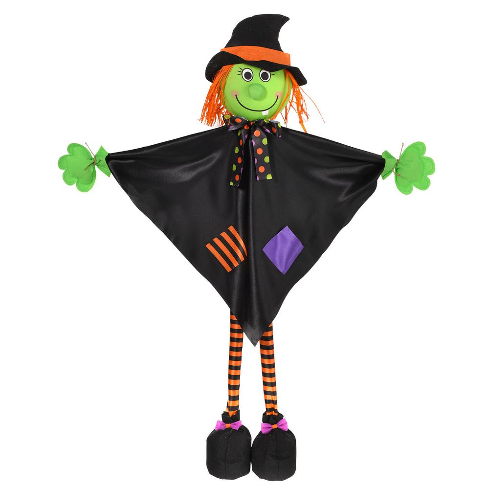 36 in. Large Halloween Standing Witch Prop