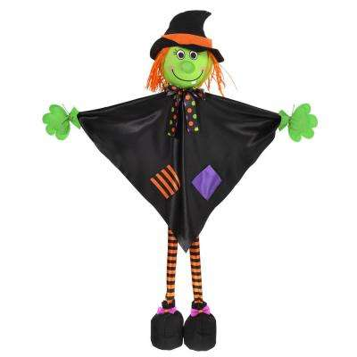 large halloween standing witch prop