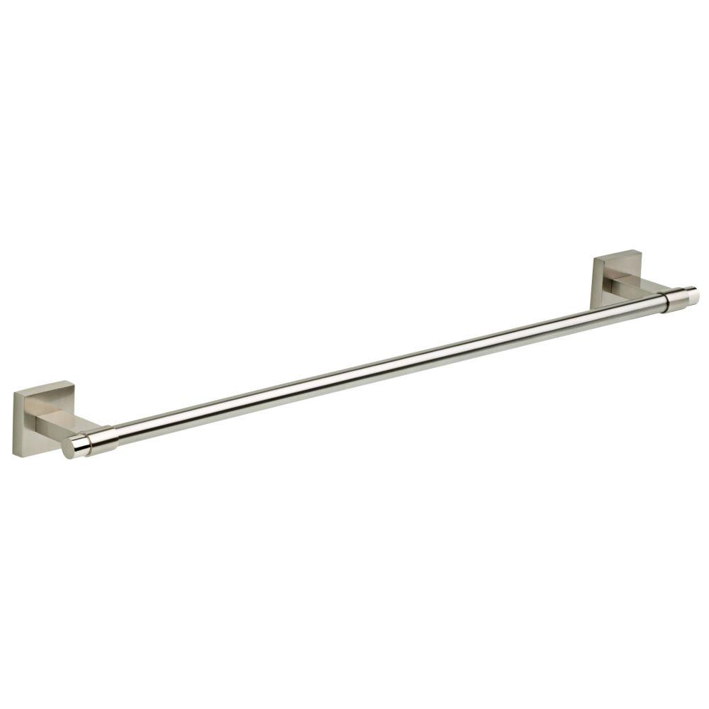 Maxted 24 in. Towel Bar in Brushed Nickel