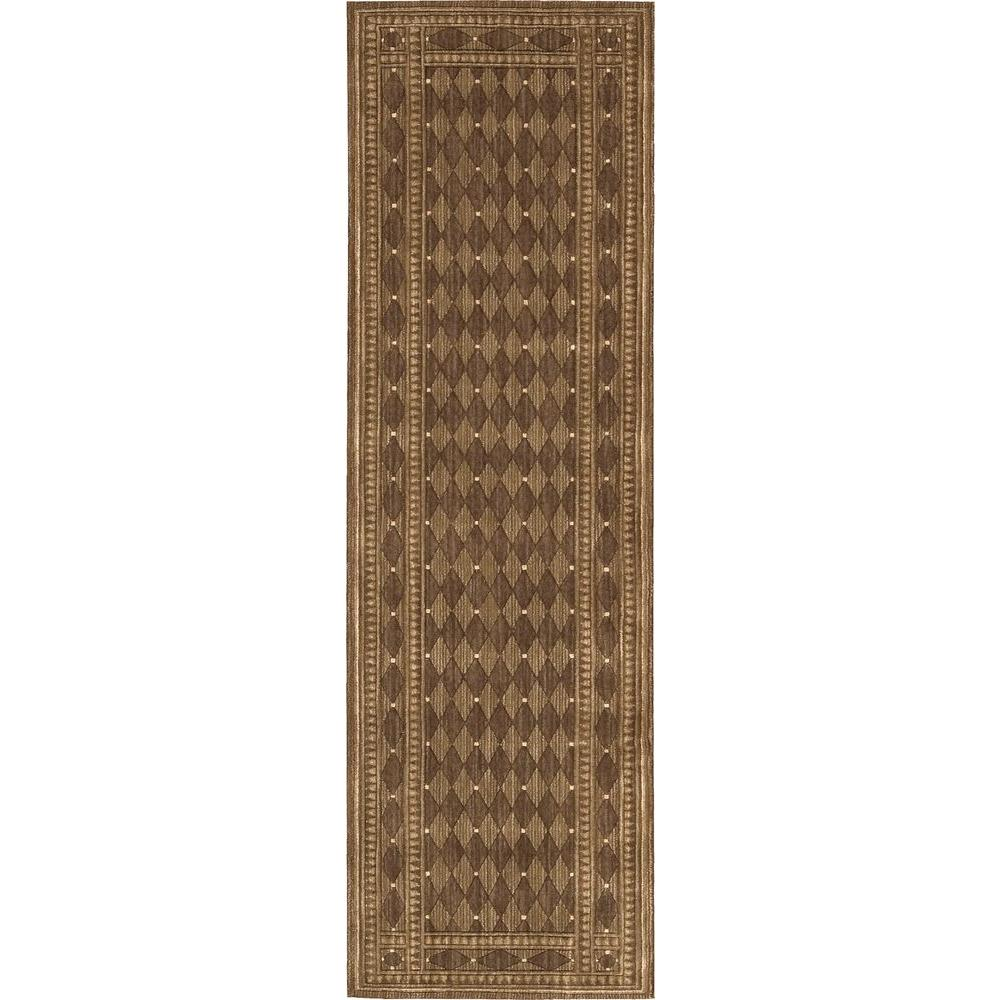 Cosmopolitan Cocoa 2 ft. 3 in. x 8 ft. Rug Runner