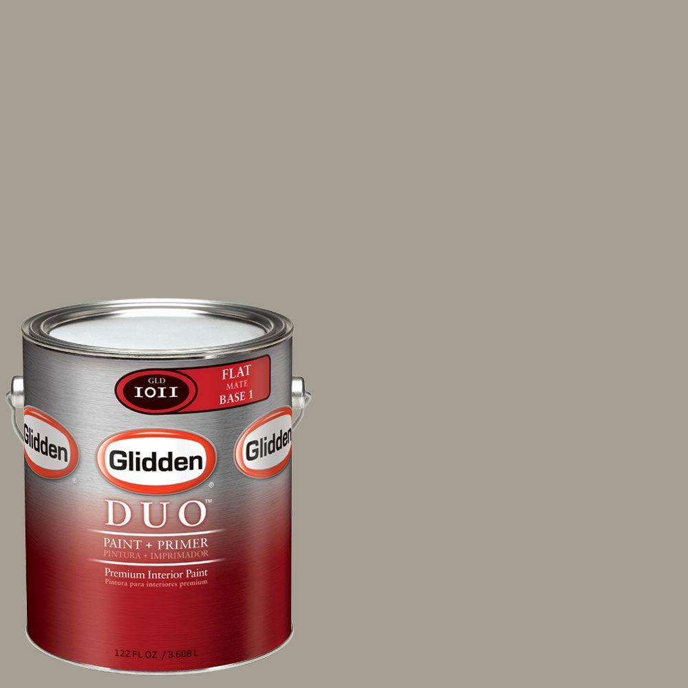 Glidden DUO Martha Stewart Living 1-gal. #MSL247-01F Flagstone Flat Interior Paint with Primer-DISCONTINUED