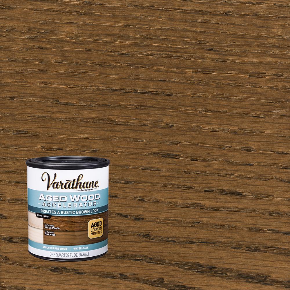 Varathane 1 qt. Interior Aged Wood Accelerator
