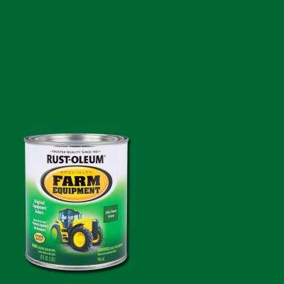 1 qt. Farm Equipment John Deere Green Gloss Enamel Paint (2-Pack)