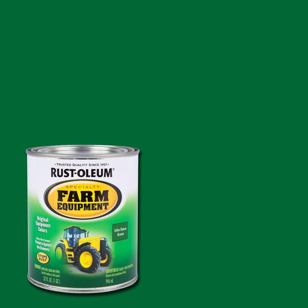 John Deere Green >> Rust Oleum Specialty 1 Qt Farm Equipment John Deere Green Gloss