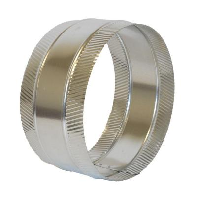 14 in. Flex and Sheet Metal Duct Splice Connector Collar