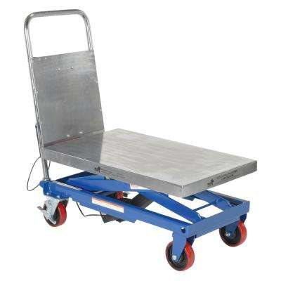 500 lb. Capacity Linear Actuated Elevating Cart