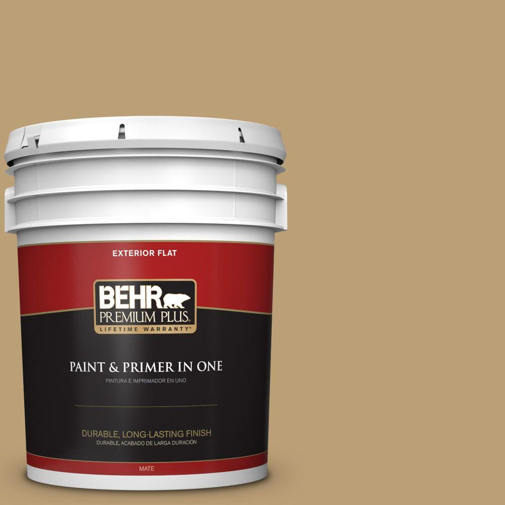 5-gal. #PMD-50 Winter Wheat Flat Exterior Paint