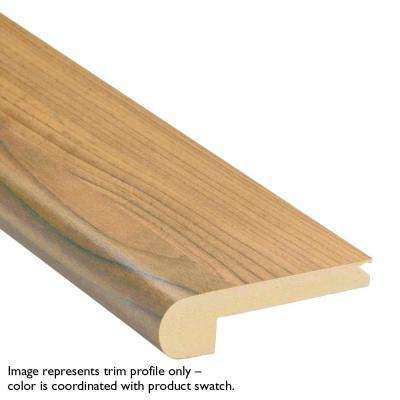 Elegant Forest Walnut .75 in. Thick x 2.75 in. Wide x 78 in. Length Stair Nose Molding